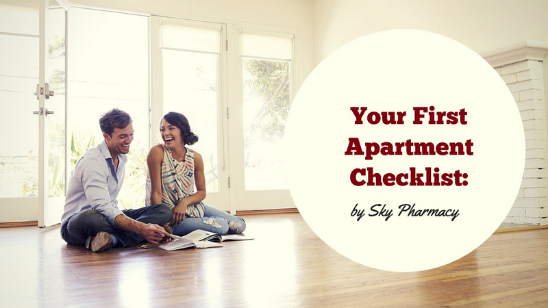 Sky Pharmacy Will Help Make Up Your First Apartment Checklist